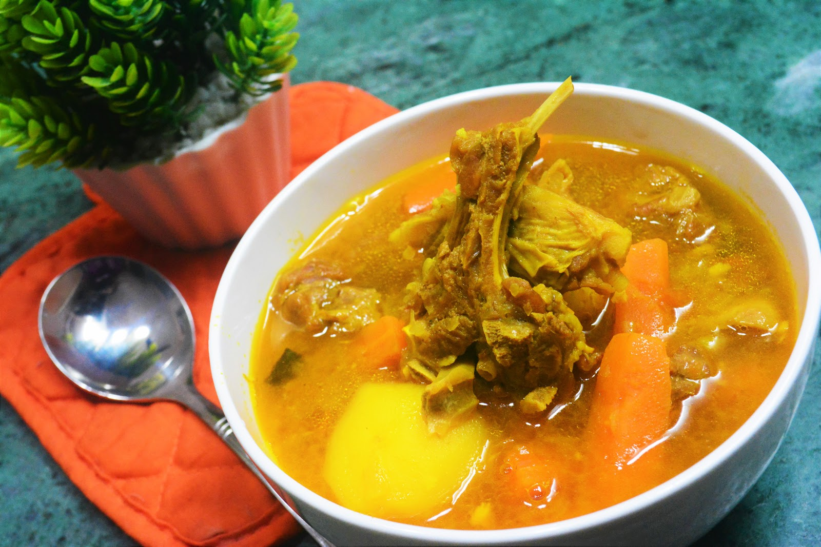 Mutton Stew with Potatoes & Carrots