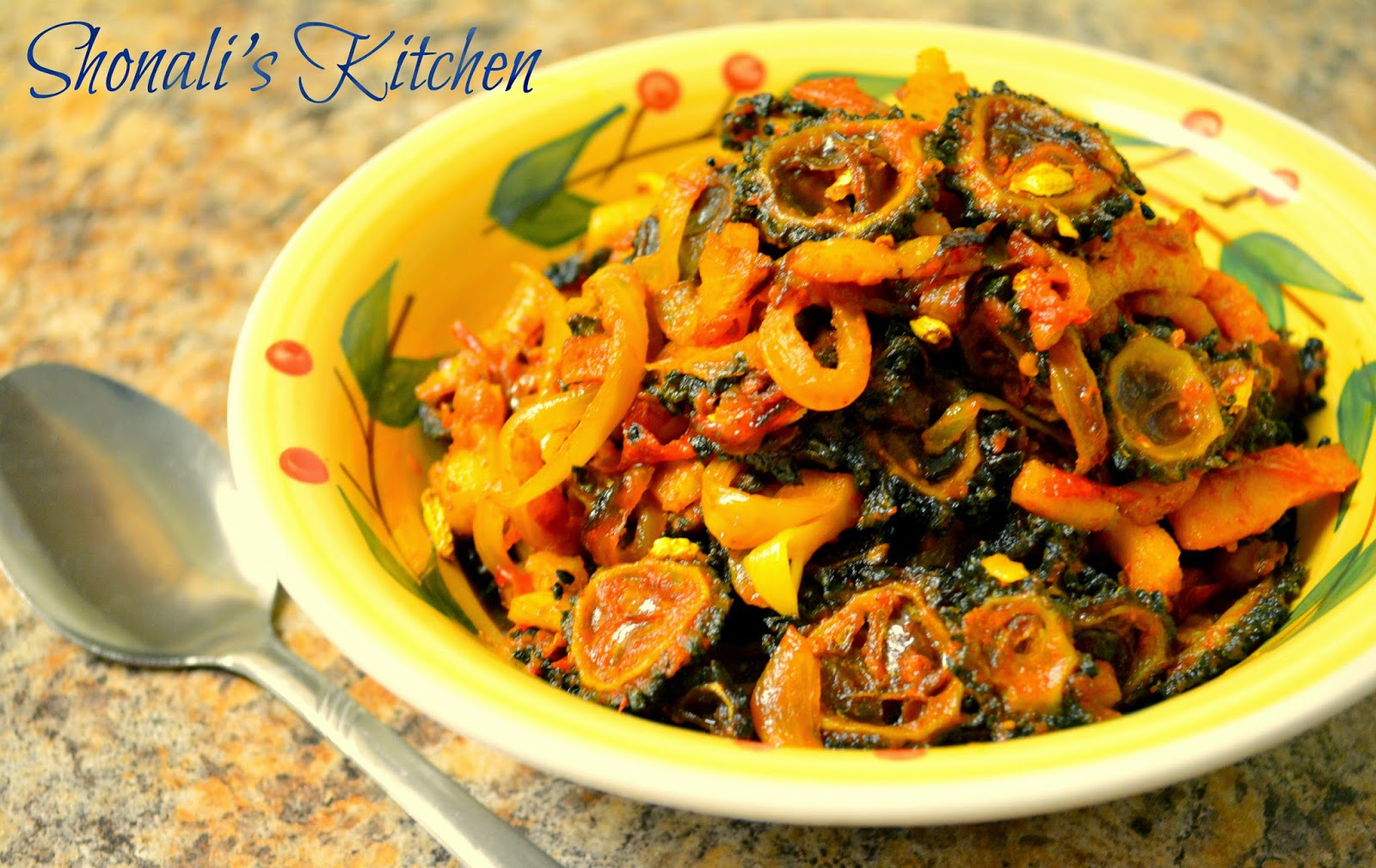 Spicy Karela